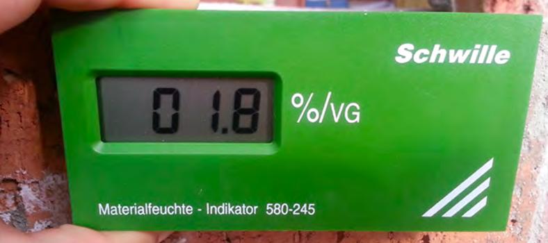 Indikátor vlhkosti Schwille