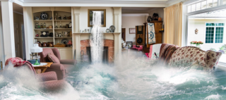 Povodeň v dome