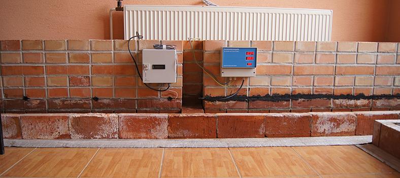 Testovanie systémov elektroosmózy