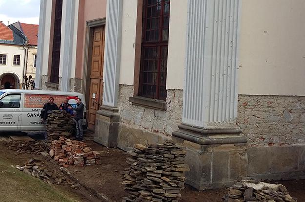 Sanačná realizácia kostola Levoča