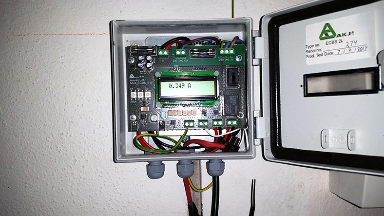 Elektronika riadiaca skrinka elektroosmóza