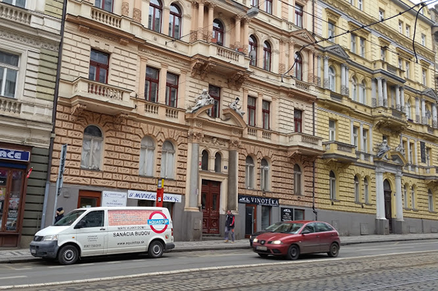 Historická budova Praha